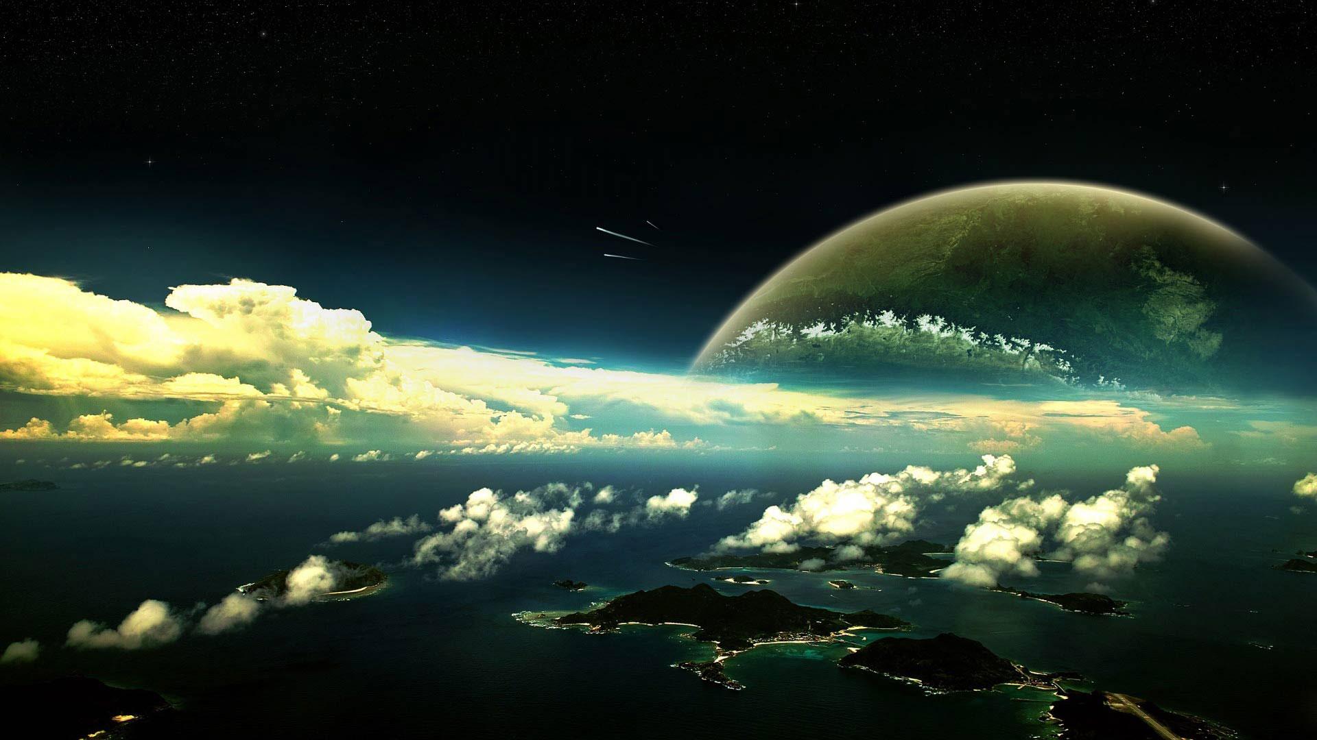 Обои пространство экзосферы картинки