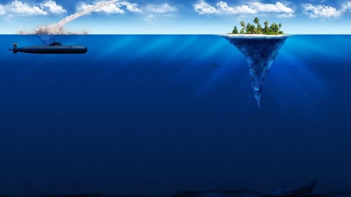 Широкоформатные обои бескрайнее море