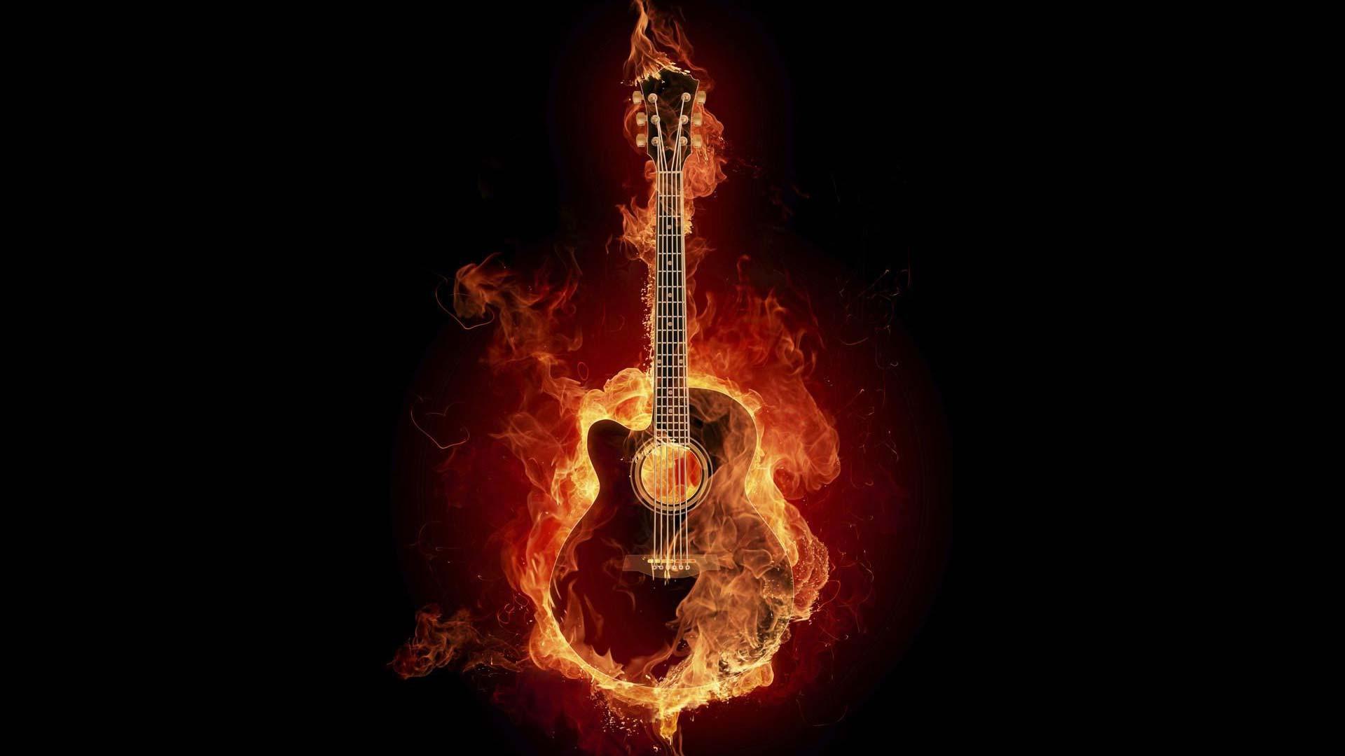 Абстракция огненная