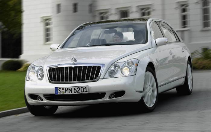 Широкоформатные обои Maybach 62S Study royal, Майбах Стади роял (Maybach 62S Study royal)