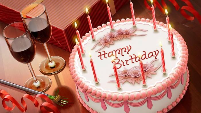 Открытка ко дню рождения в фейсбуке 77