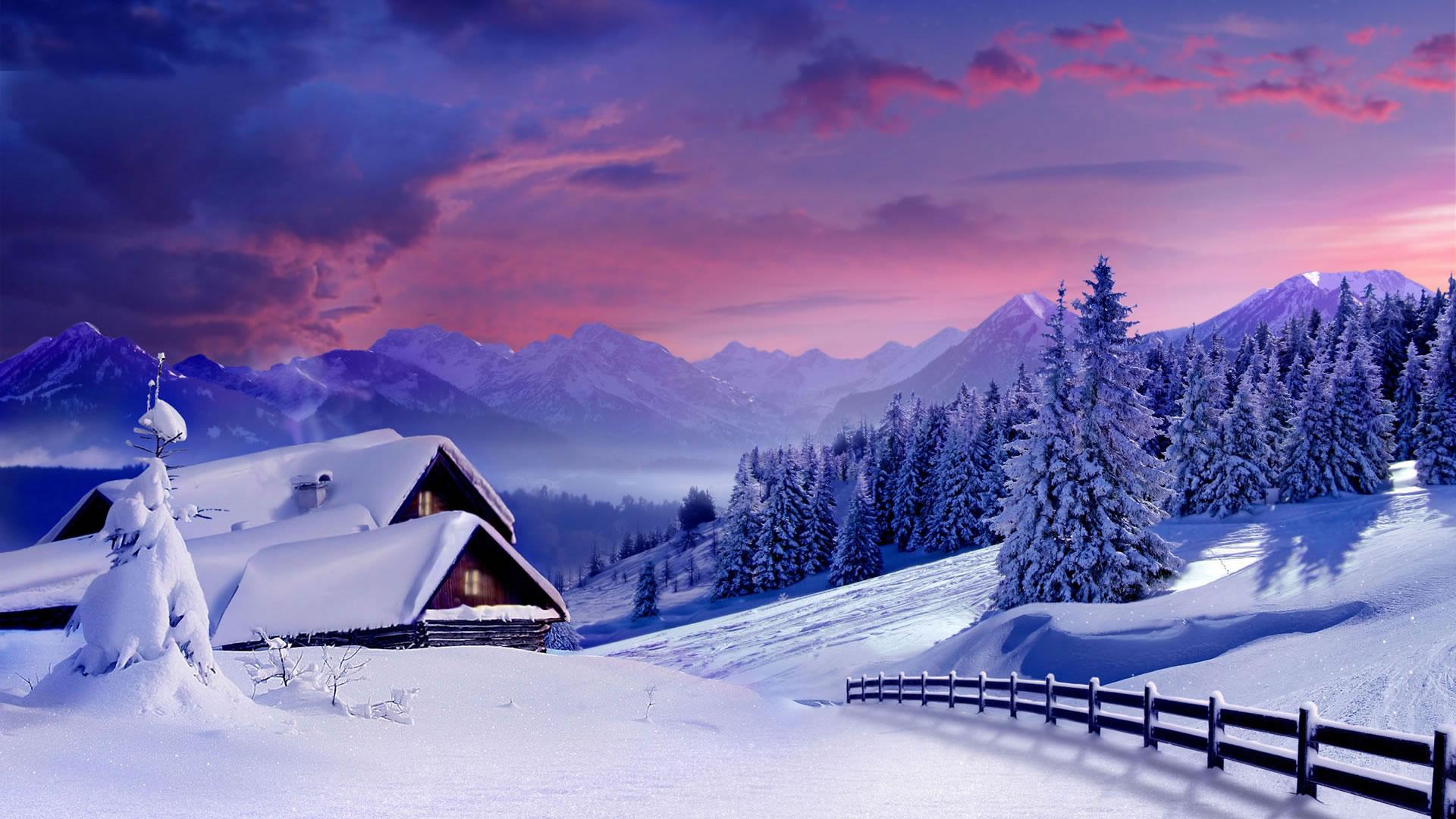 Обои красивая зима картинки обои на