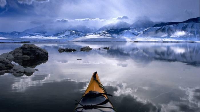 Обои вид на озеро картинки фото обои