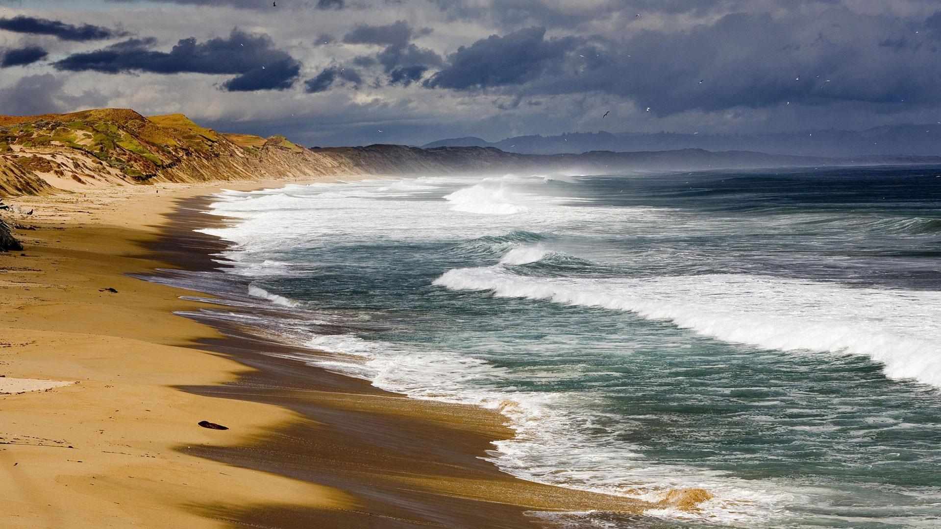 видео море и песок