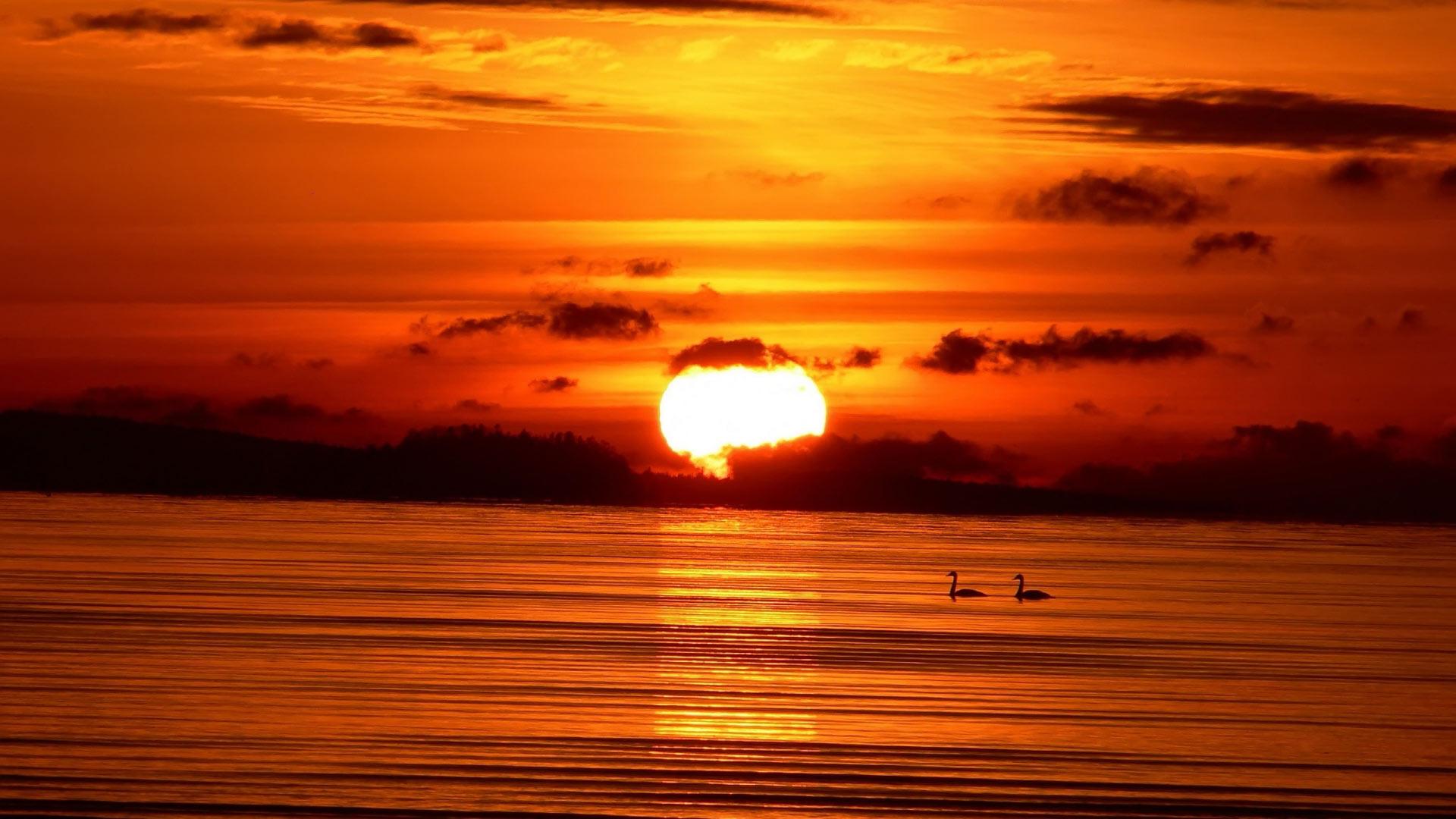 Солнце яркое солнце и красное небо