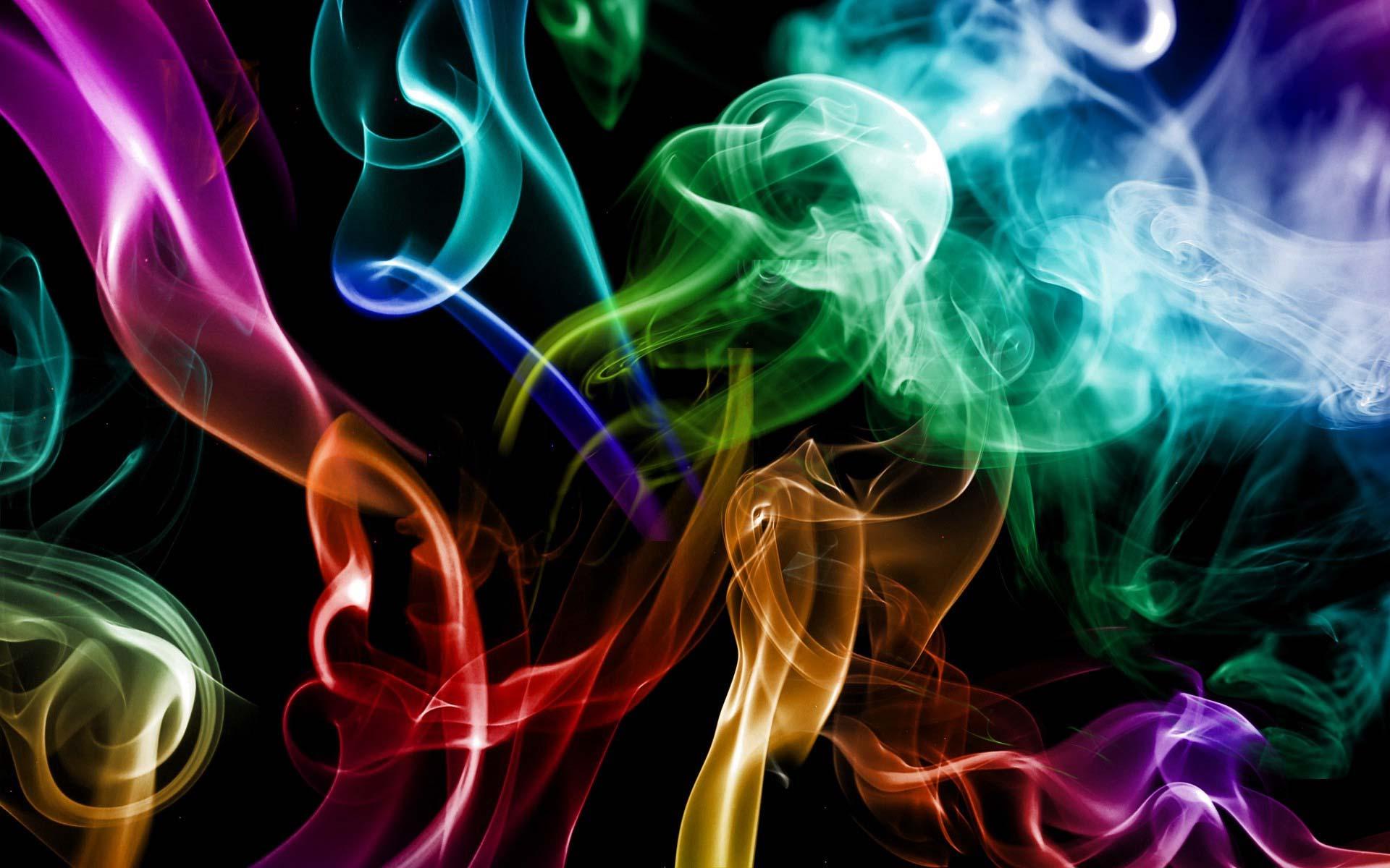 Цветной Дым Обои На Рабочий Стол