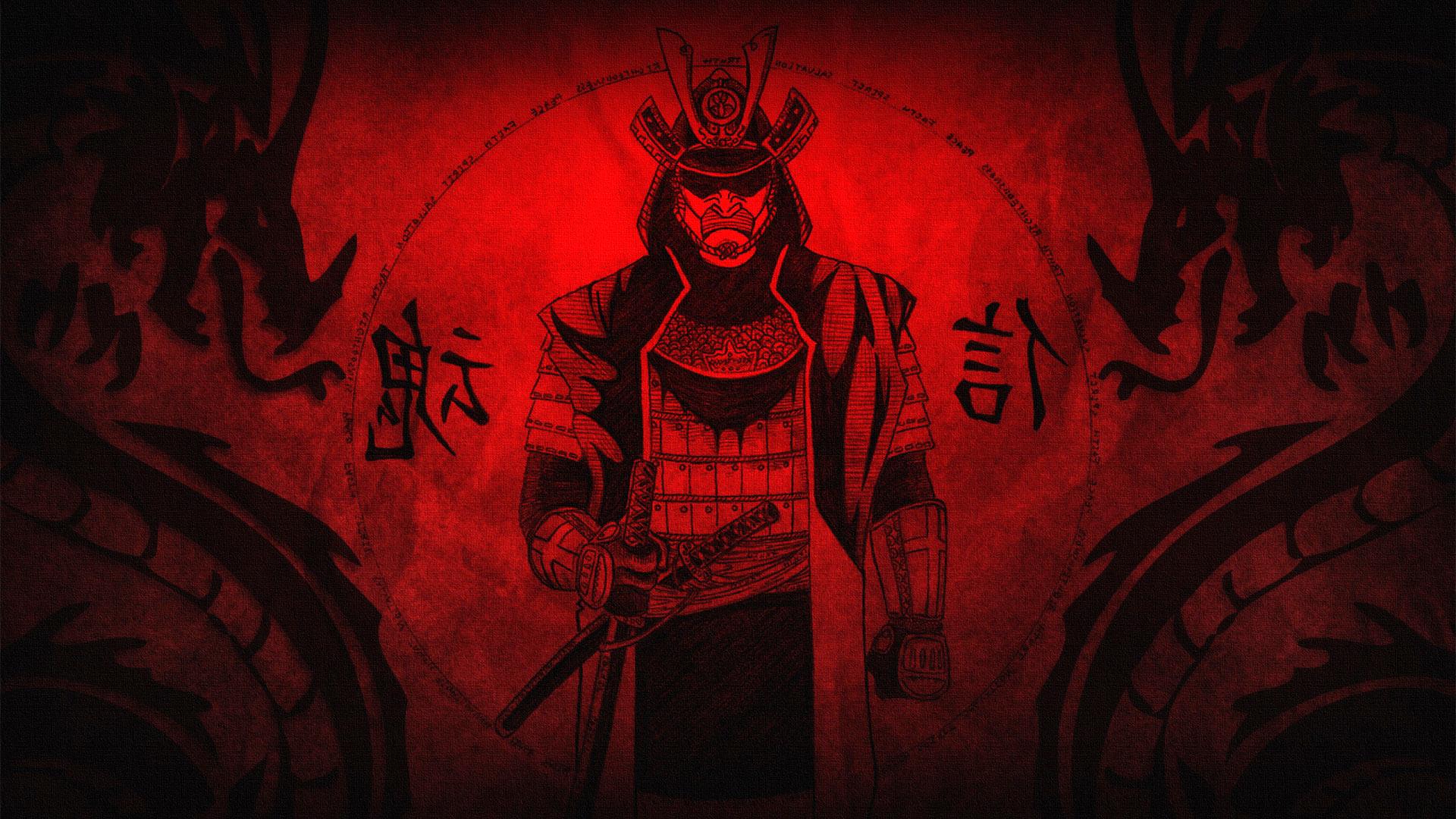 Картинки белка самурай на рабочий стол  Фэнтези